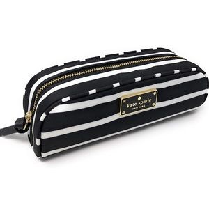 NWT Kate Spade ♠️ Black & White Striped Case